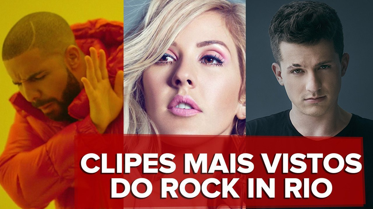 Os 10 clipes mais vistos das atrações do Rock in Rio 2019