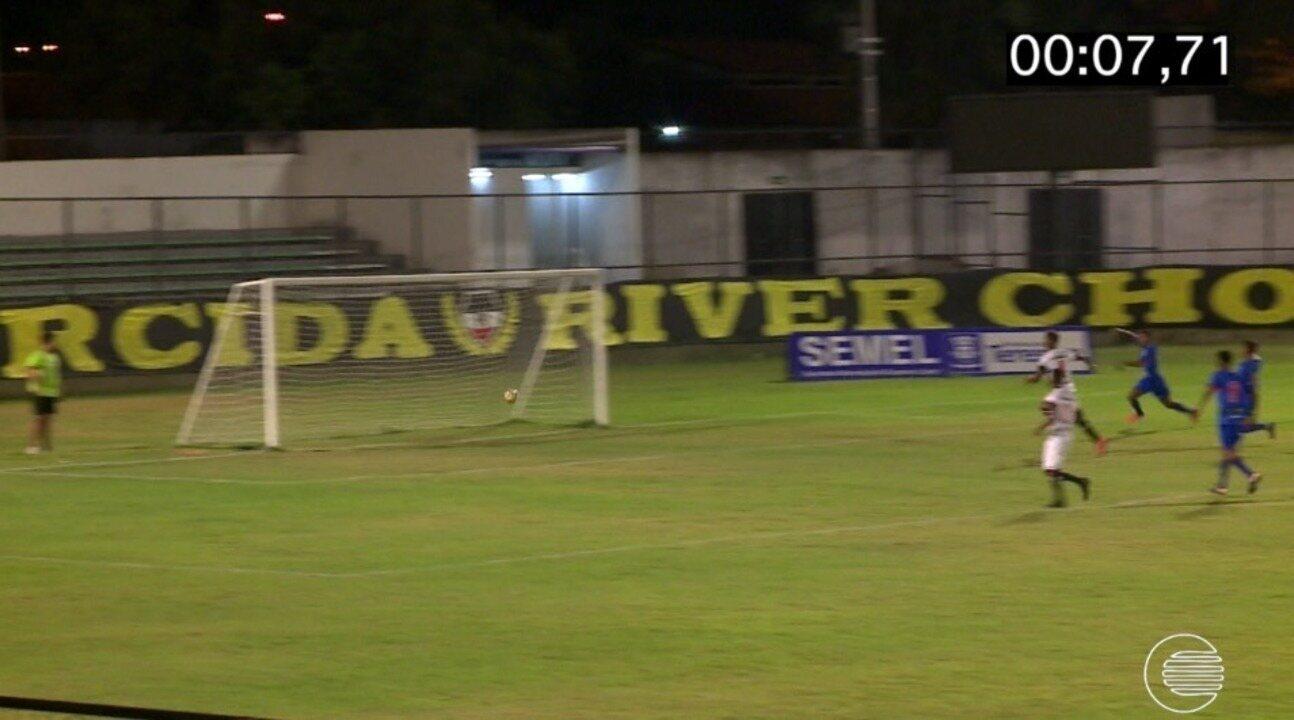 Gol aos sete segundos impressiona em final do Piauiense sub-17