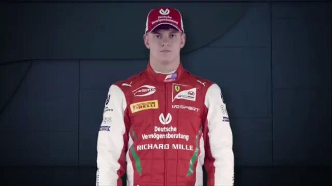 Vinheta de abertura da Fórmula 2 até a etapa da Bélgica