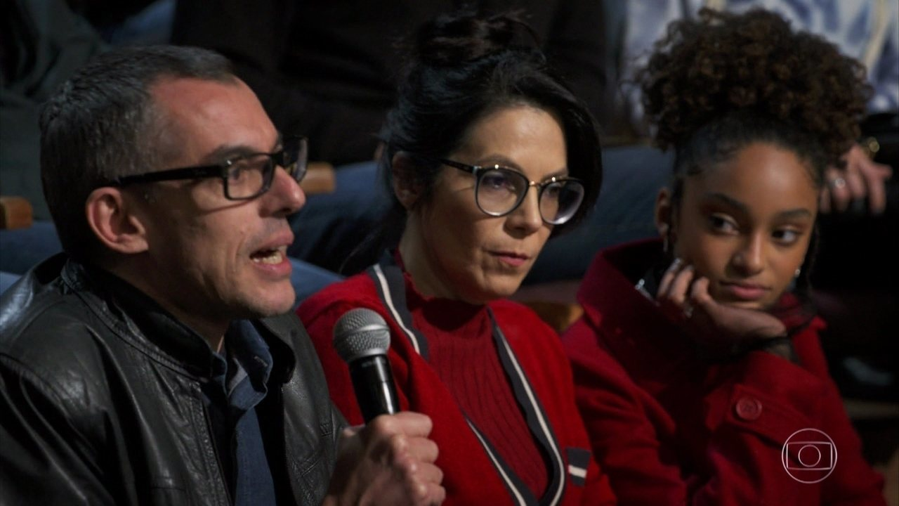 Na plateia, o produtor Roberto D'Avila comentou o sucesso do seriado