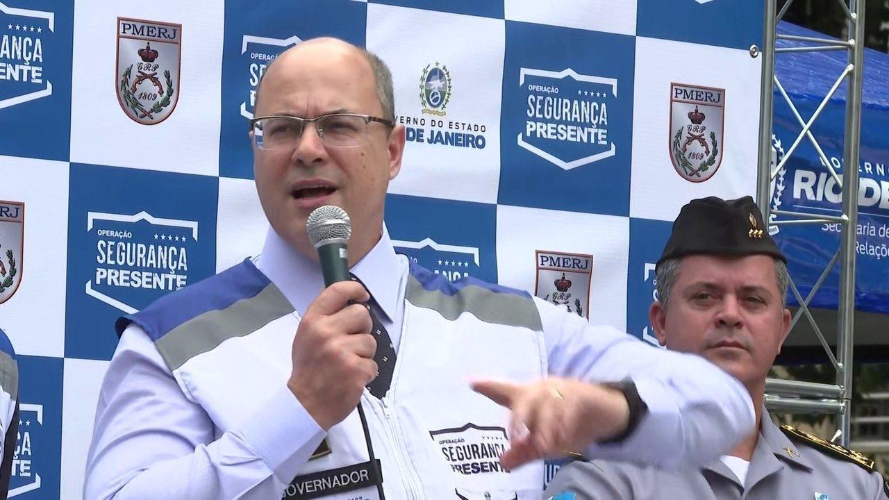 Manifestante chama Witzel de fascista, e governador responde: maconheiro