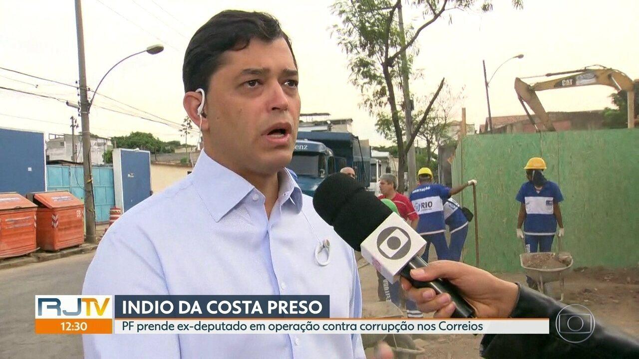PF prende ex-deputado Indio da Costa em operação contra fraude nos Correios