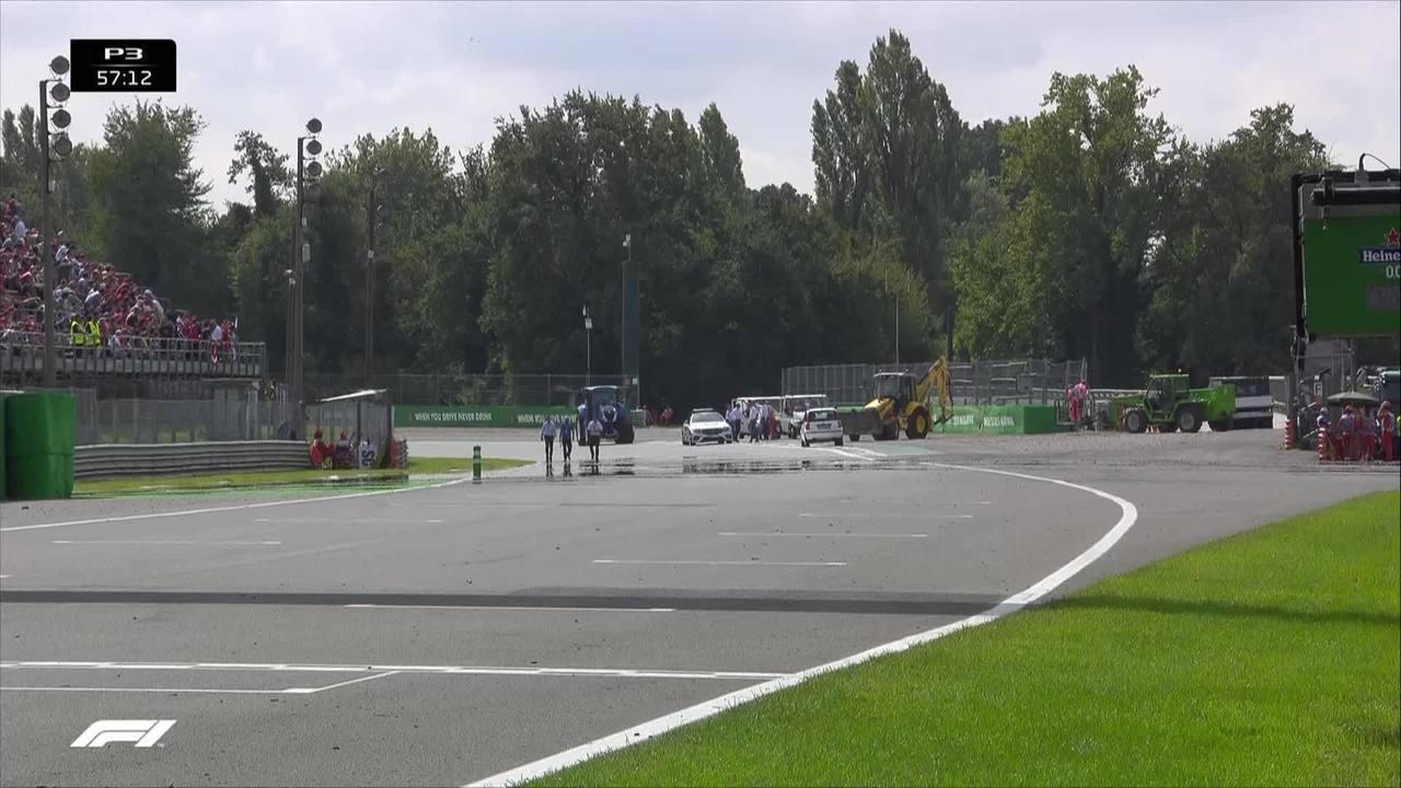 Alex Peroni sofre acidente assustador na Fórmula 3 em Monza
