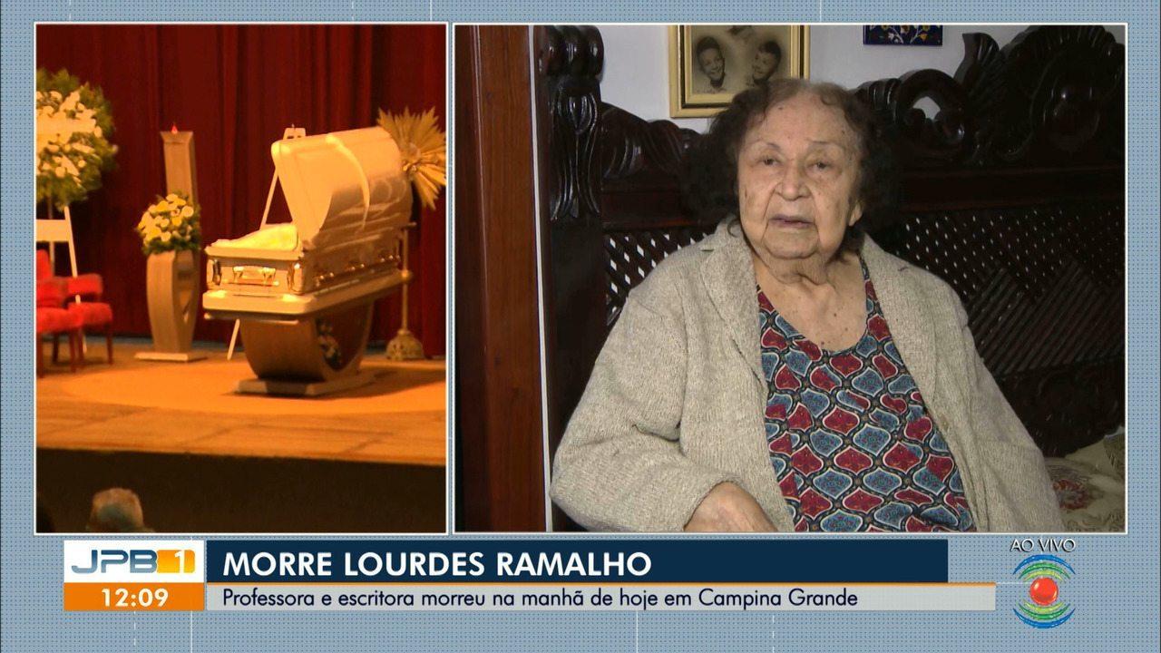 Morre, em Campina Grande, a professora e escritora Lourdes Ramalho