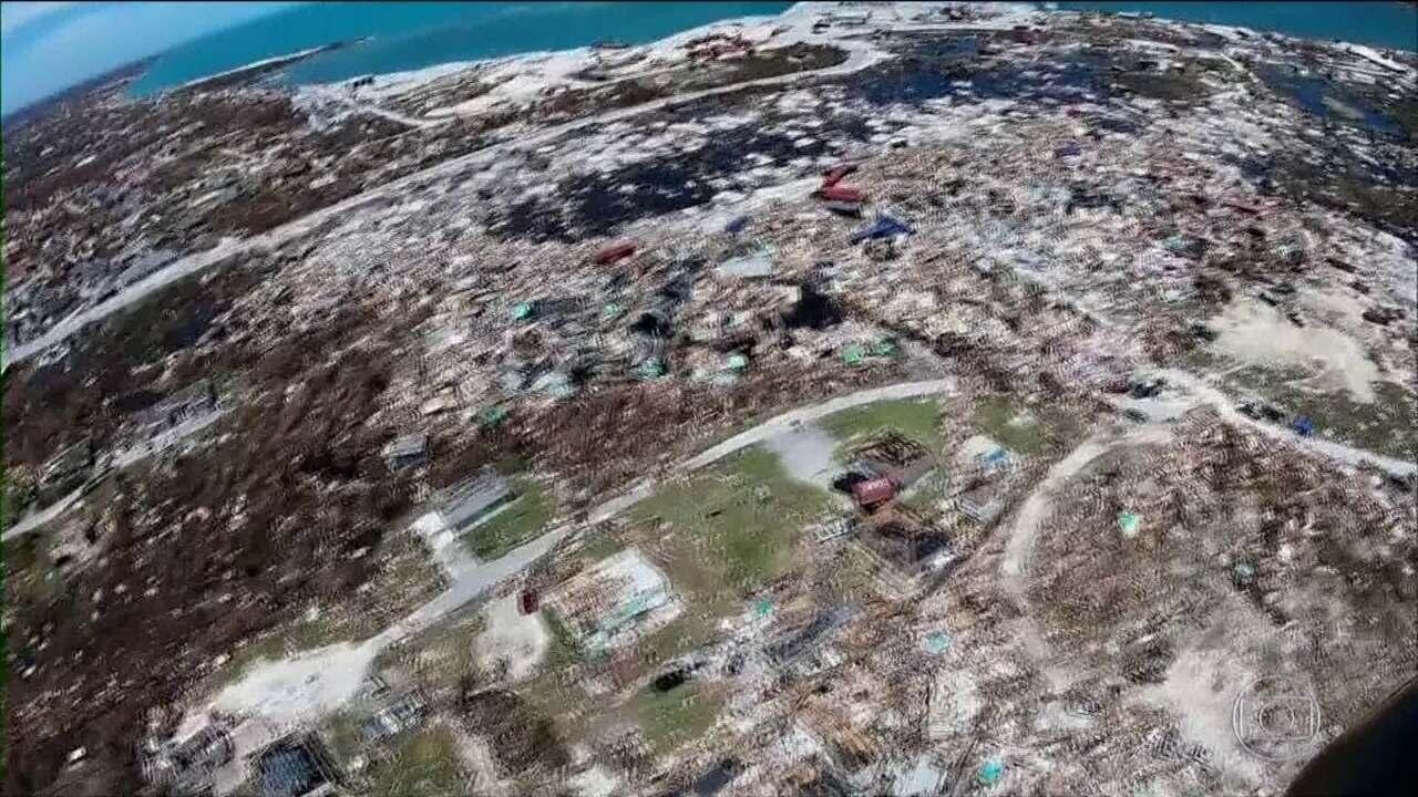 Número de mortos pelo furacão Dorian nas Bahamas chega a 43