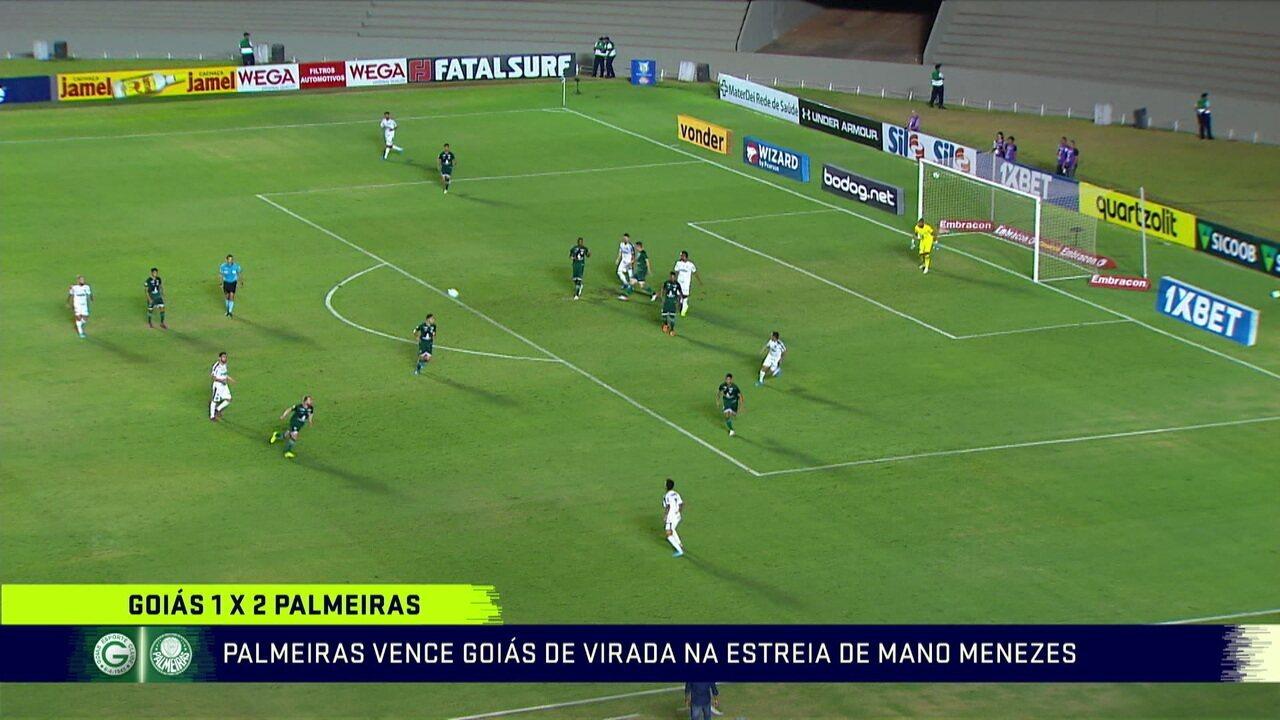 Comentaristas analisam virada do Palmeiras em cima do Goiás na estreia de Mano Menezes