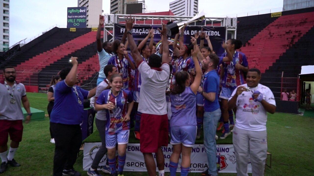 Vitória campeão pernambucano de futebol