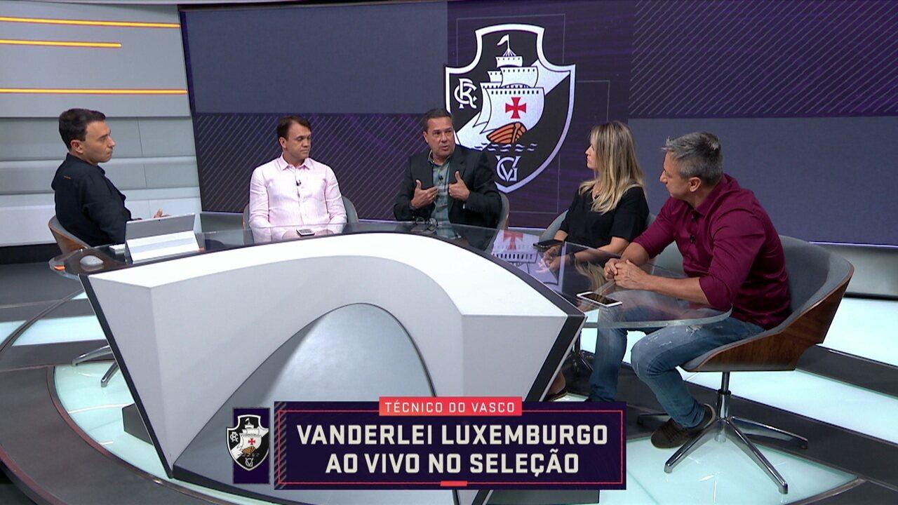 Vanderlei Luxemburgo analisa momento de Vasco e Flamengo no Seleção SporTV
