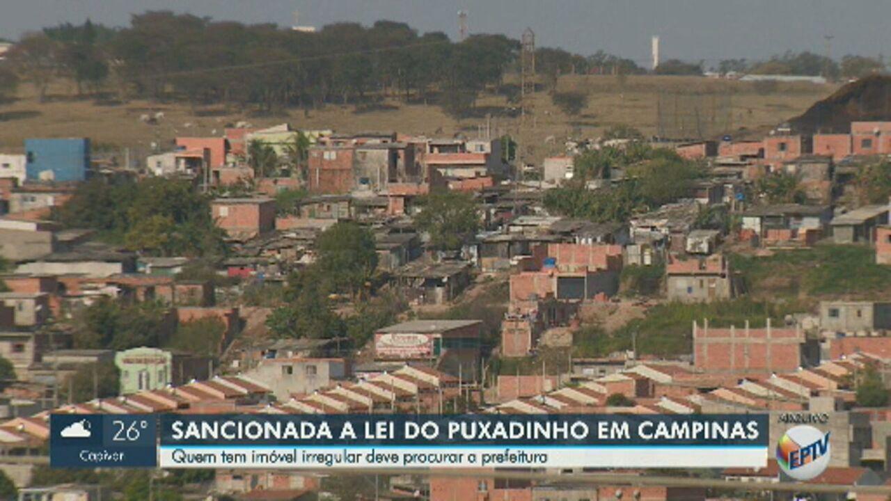 Prefeito de Campinas sanciona 'Lei do Puxadinho' e espera regularizar 200 mil imóveis