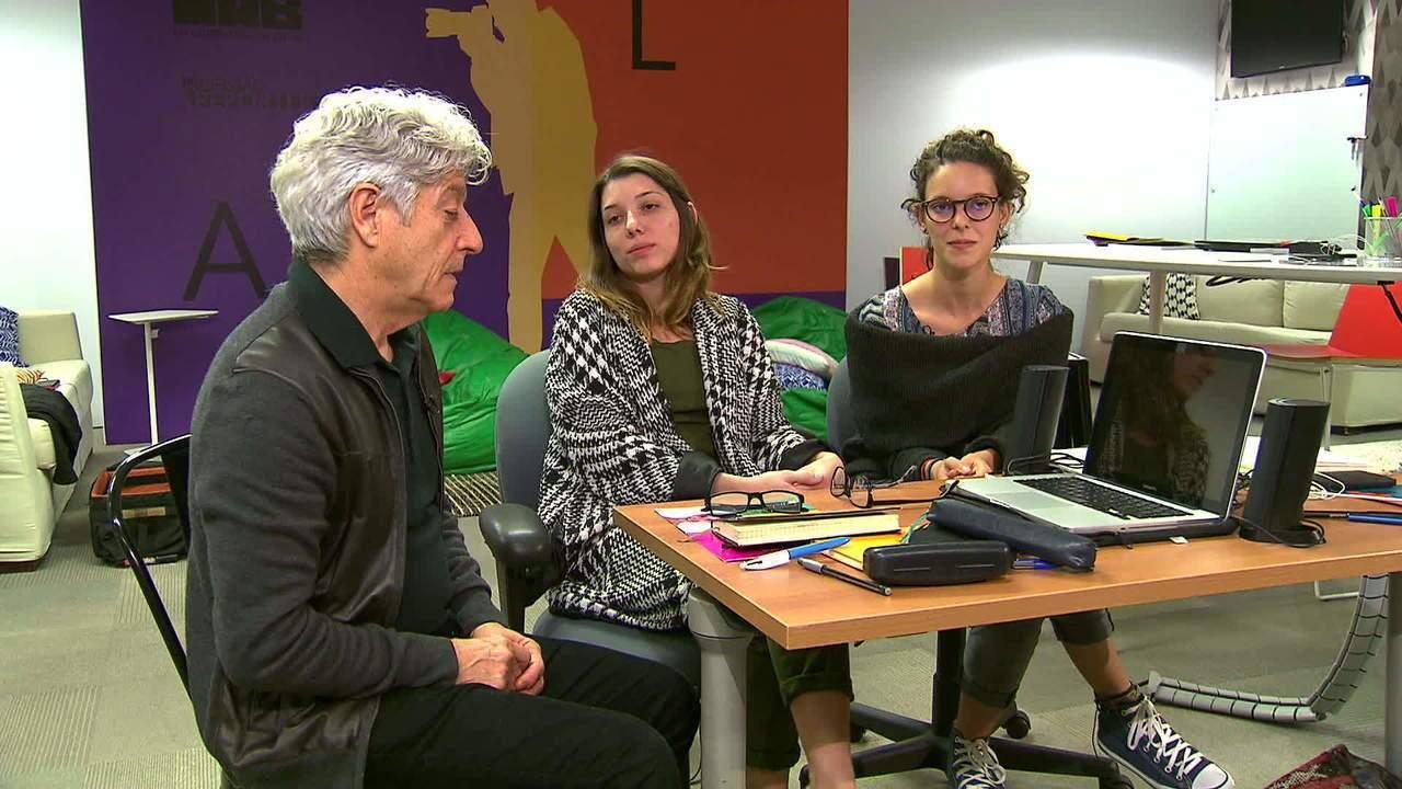 Dupla fala de bastidores da reportagem sobre depressão com Caco Barcellos