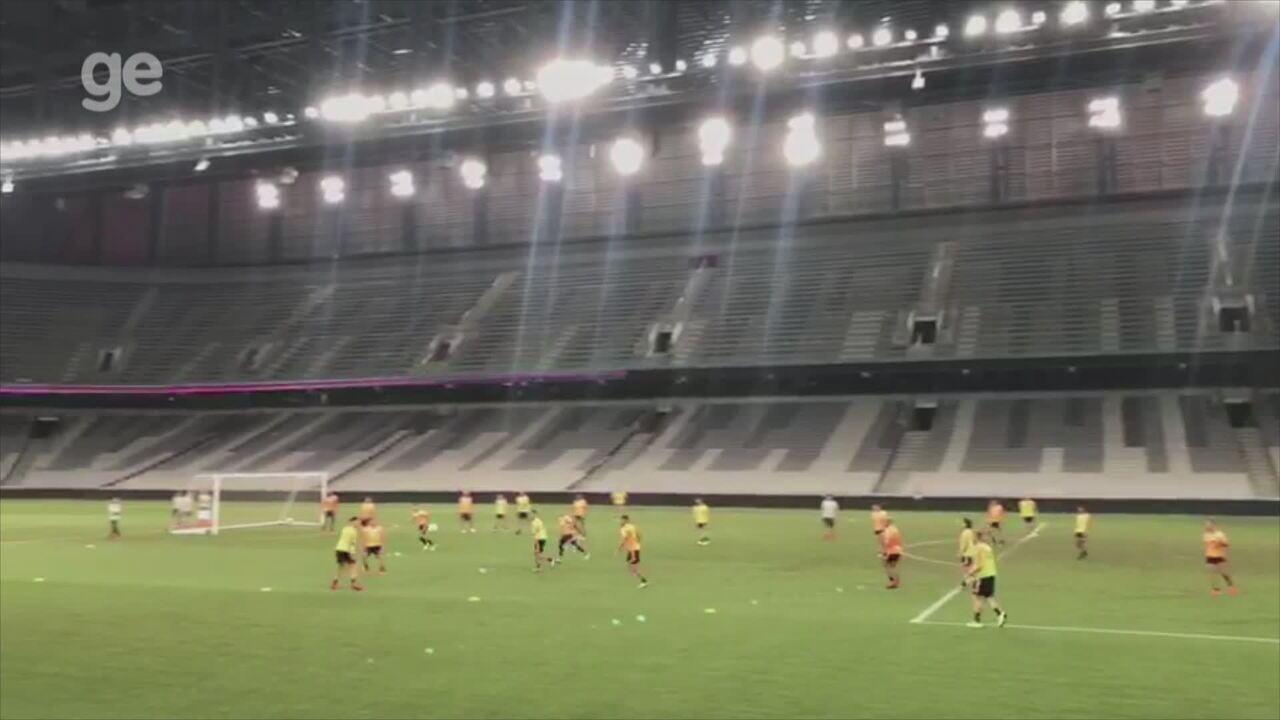 Veja como foi o treino do Inter nesta terça-feira