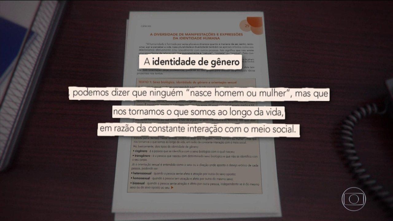 Justiça manda Doria devolver para escolas apostila que trata de diversidade sexual
