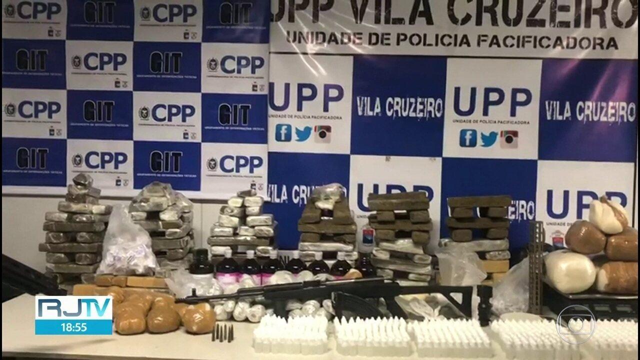Polícia Militar faz operação na Vila Cruzeiro