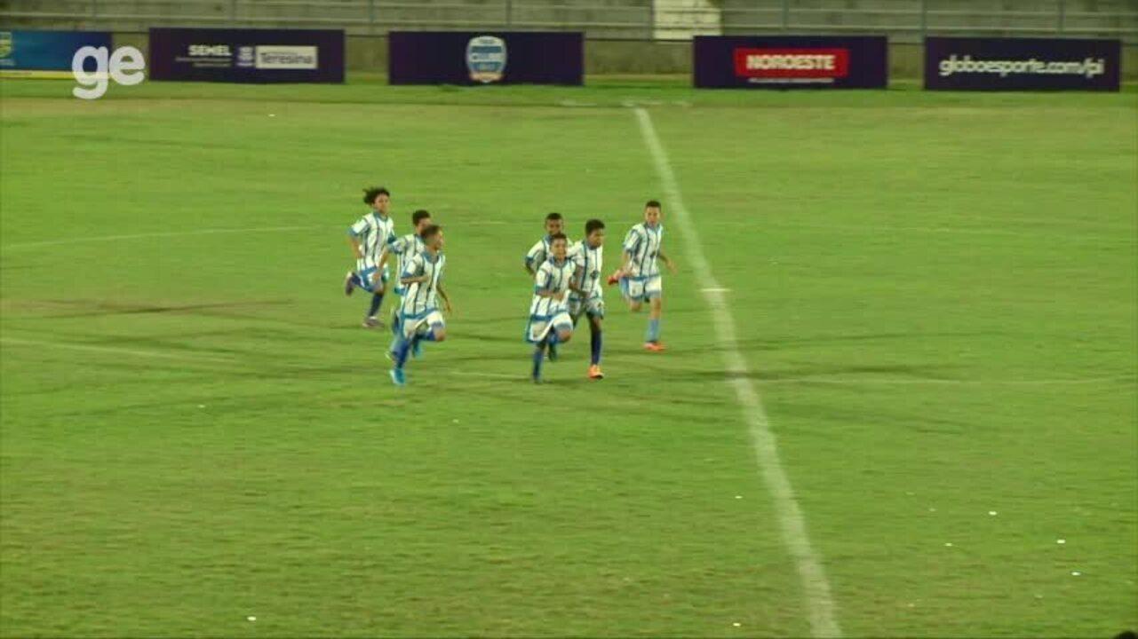 Escolinha Real suporta pressão e vence o Nova Esperança na estreia da Taça Clube sub-11
