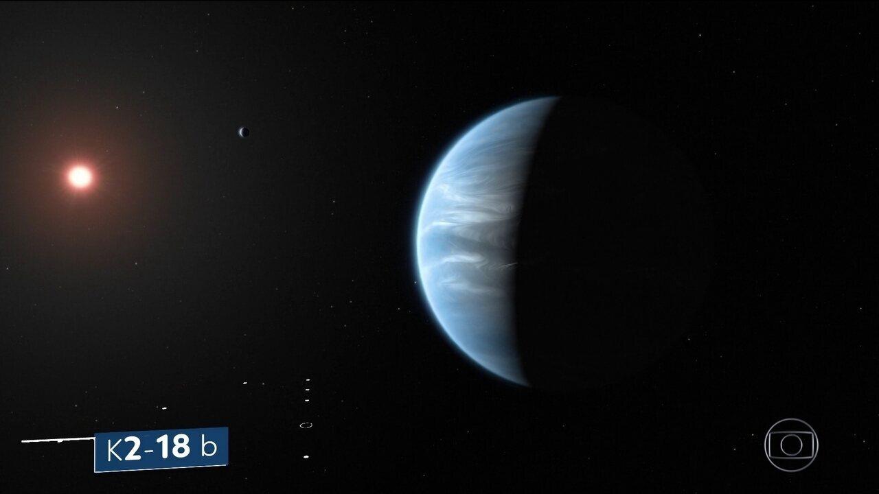 Cientistas anunciam descoberta de água na atmosfera de um planeta fora do sistema solar