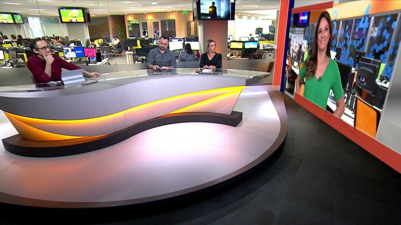 Redação SporTv comentam sobre o duelo entre Jorge Jesus e Sampaoli pelo título do primeiro turno do Brasileirão