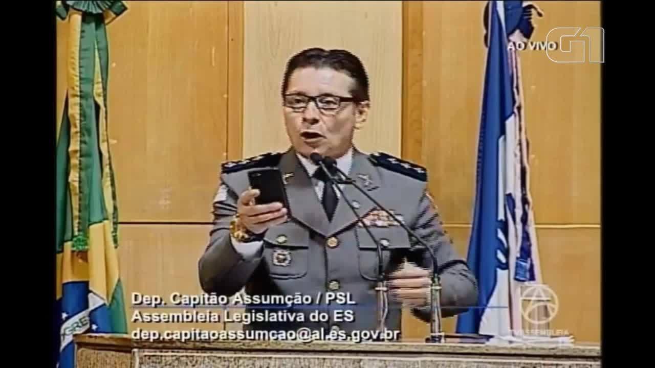 Deputado estadual do ES Capitão Assumção oferece recompensa para quem cometer crime
