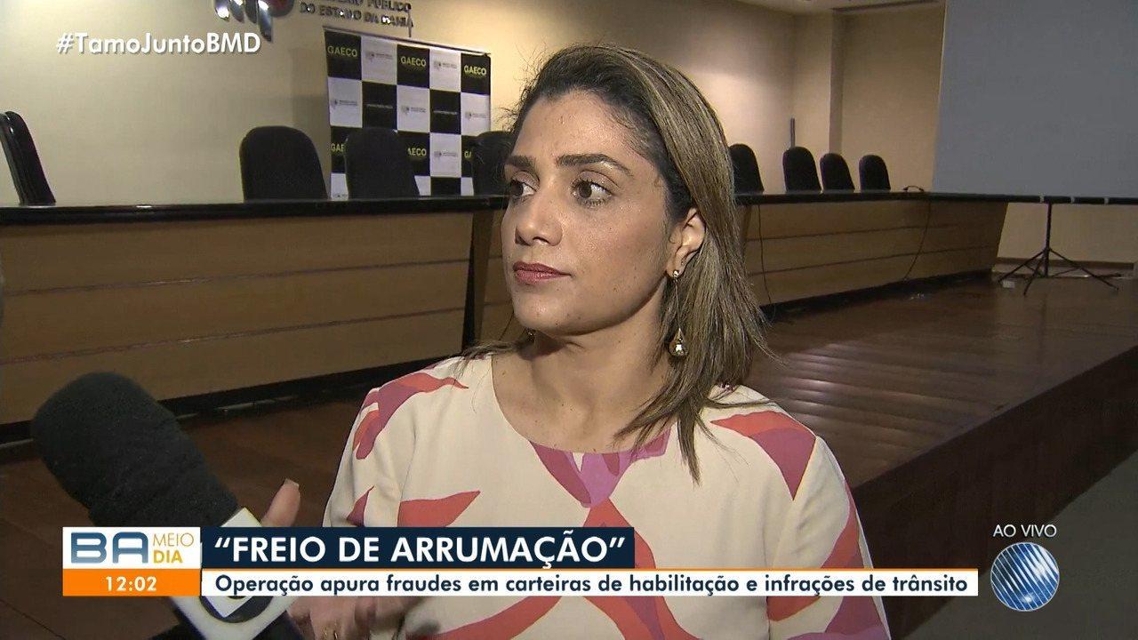 Operação feita pelo MP na Bahia e em outros onze estados apura fraude no trânsito