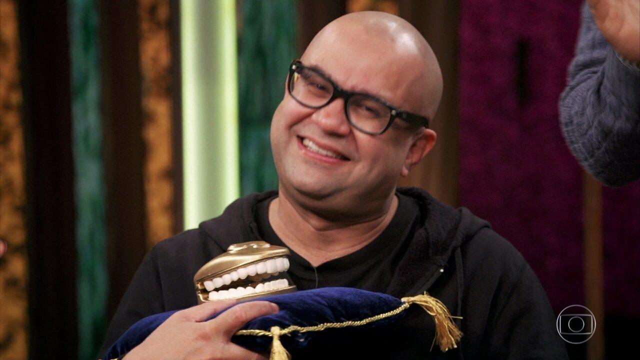 Humoristas da TV Globo pedem volta de Welder Rodrigues como o personagem Jajá
