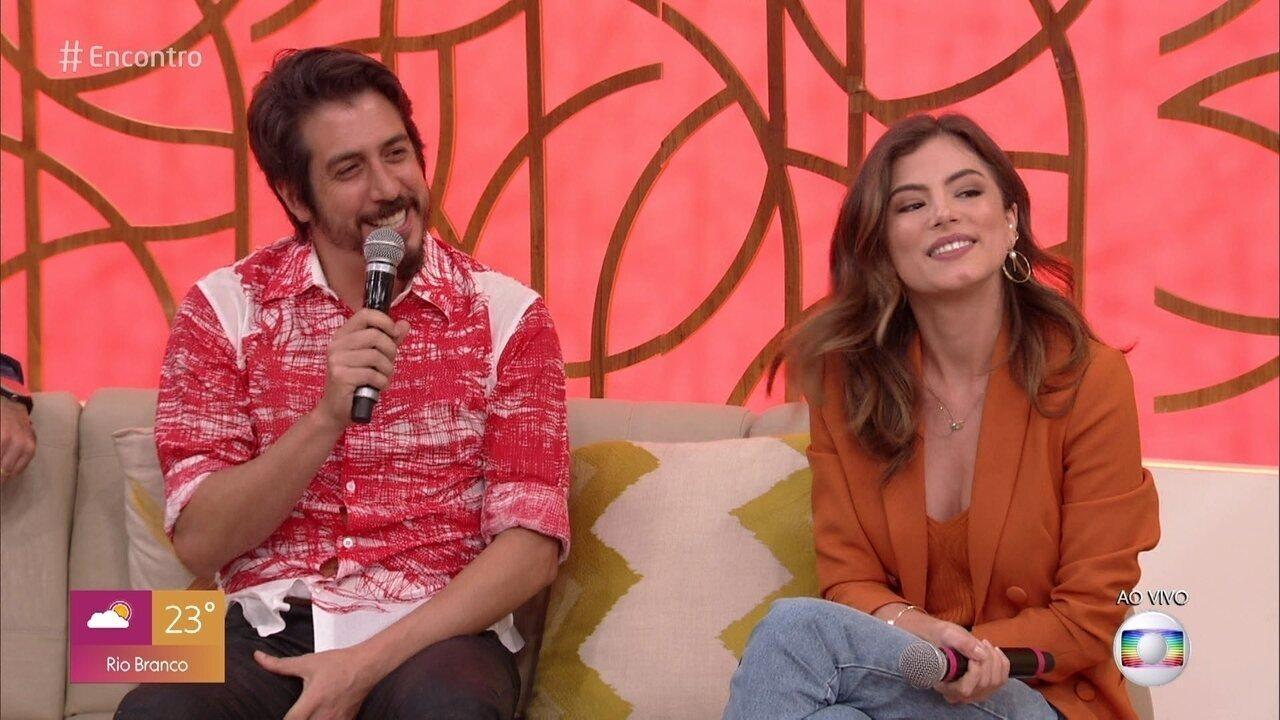 Bruna Hamú e Eduardo Mossri falam sobre seus personagens