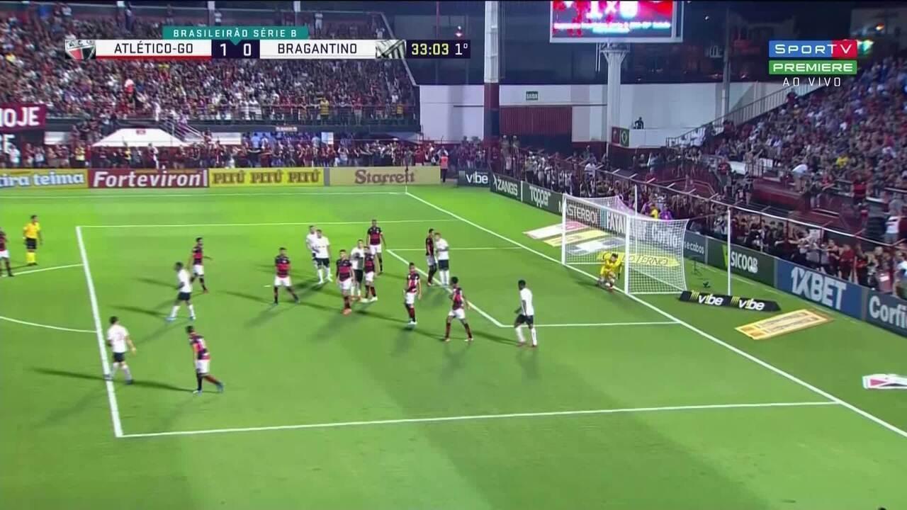 Melhores momentos: Atlético-GO 1 x 1 Bragantino - Rodada 22 da Série B