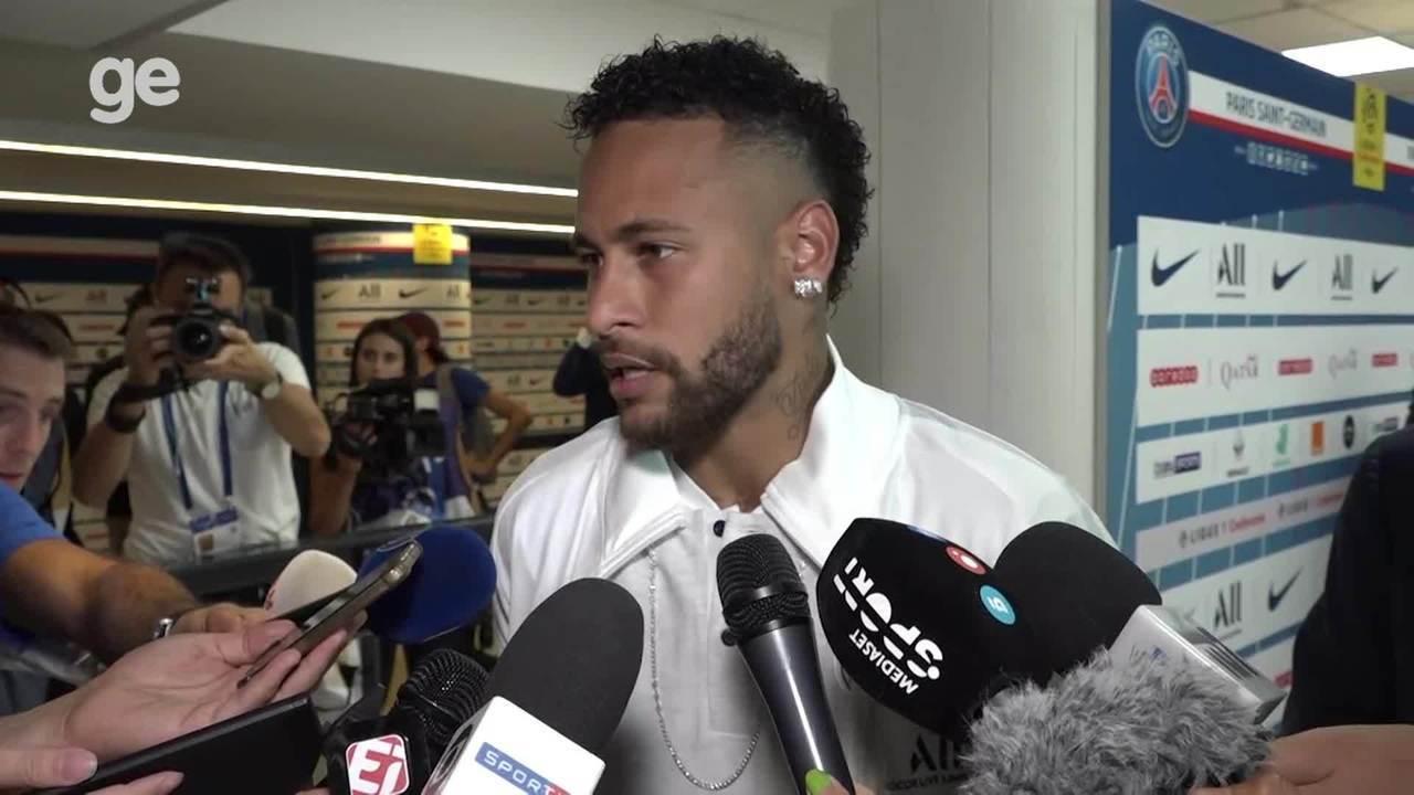 Em seu retorno pelo PSG, Neymar fala após marcar na partida