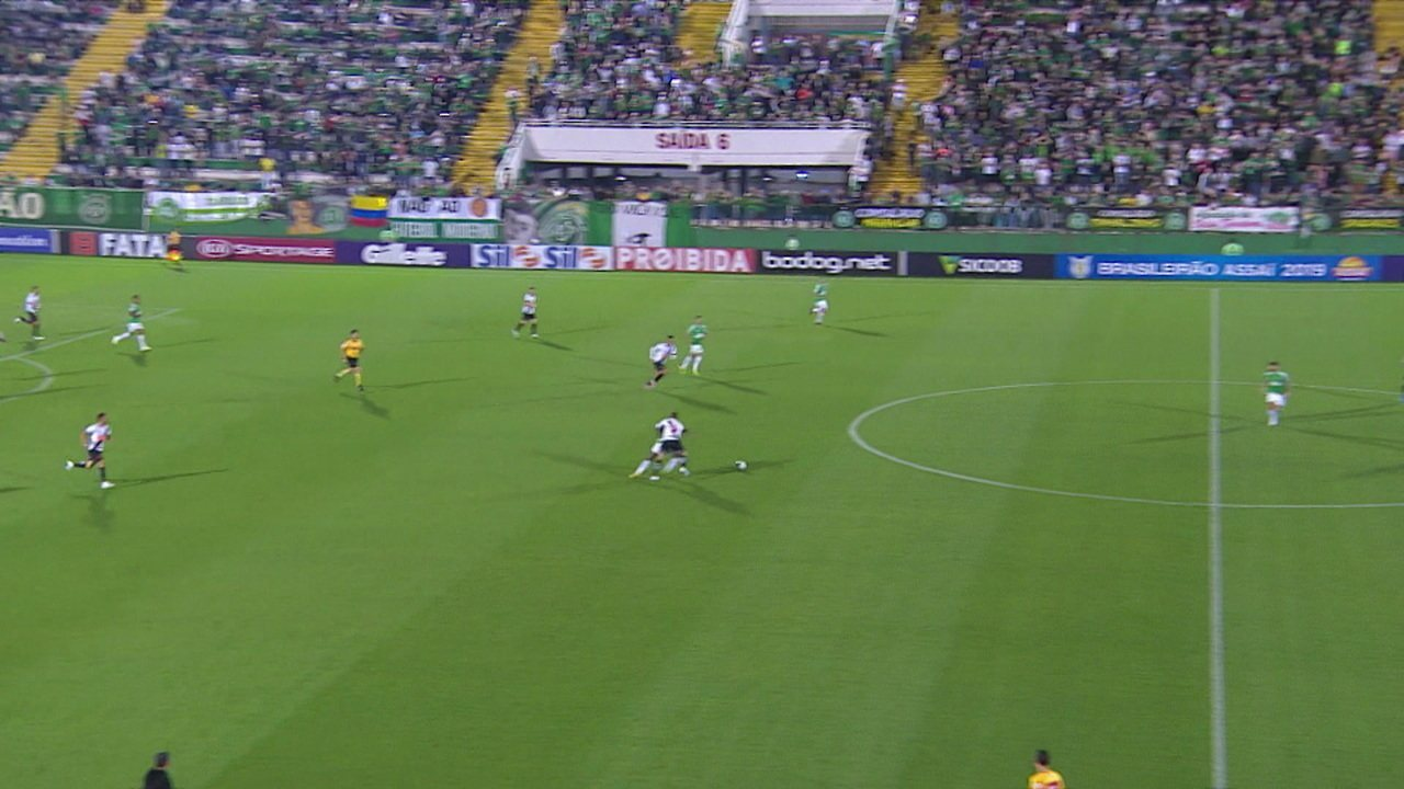 Melhores momentos de Chapecoense 1x2 Vasco pela 19º rodada do Campeonato Brasileiro