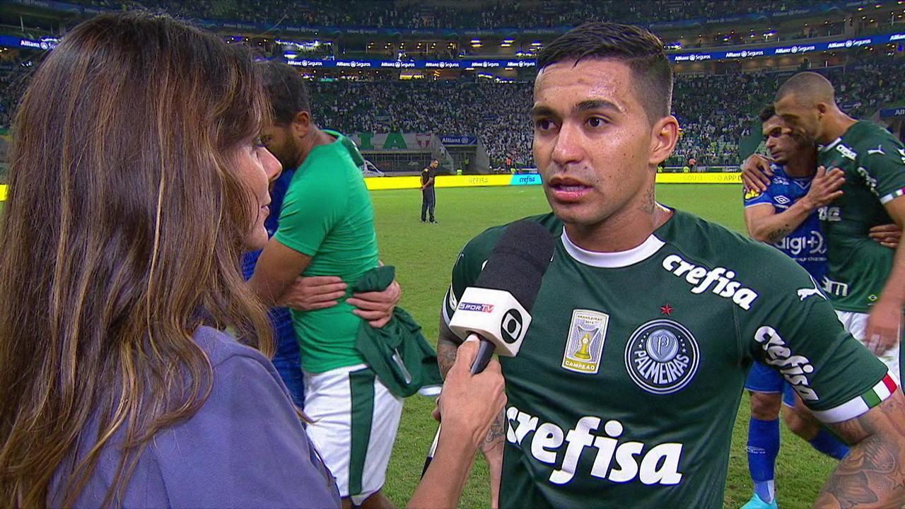 Dudu diz que Palmeiras tem que dar gás no segundo turno para ir em busca do título