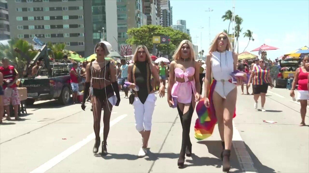 Parada da Diversidade colore o Recife e lembra importância do respeito e tolerância