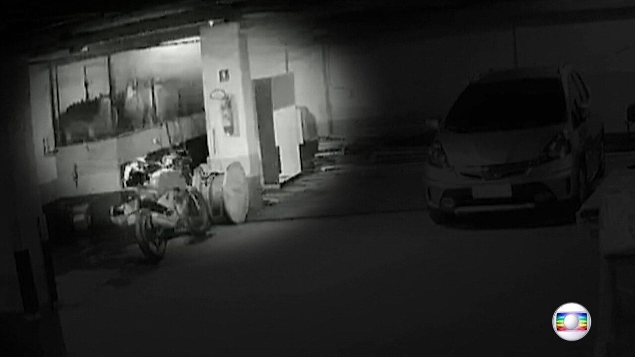Exclusivo: câmeras de segurança de hospital mostram cronologia do incêndio