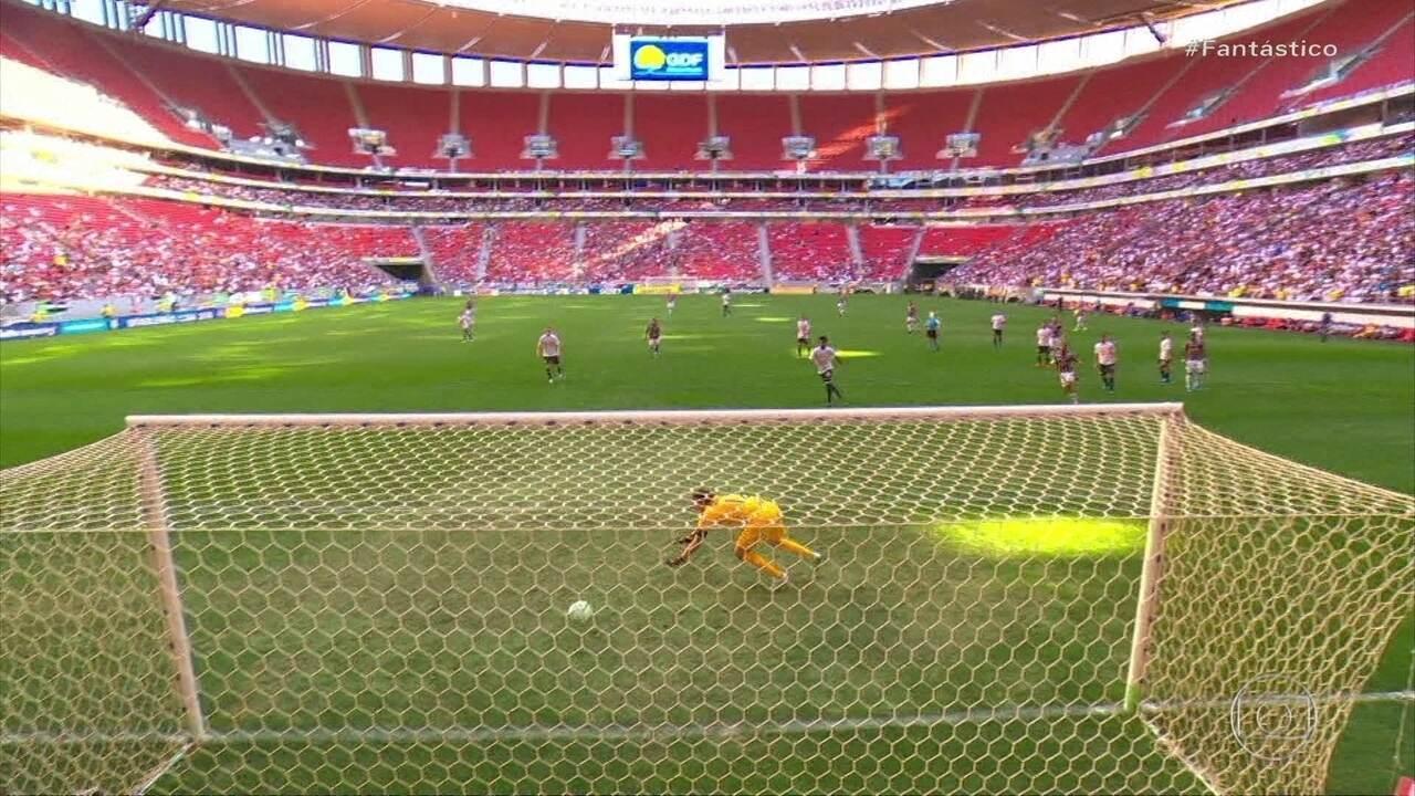 Gols do Fantástico: Fluminense bate o Corinthians e deixa o Z-4