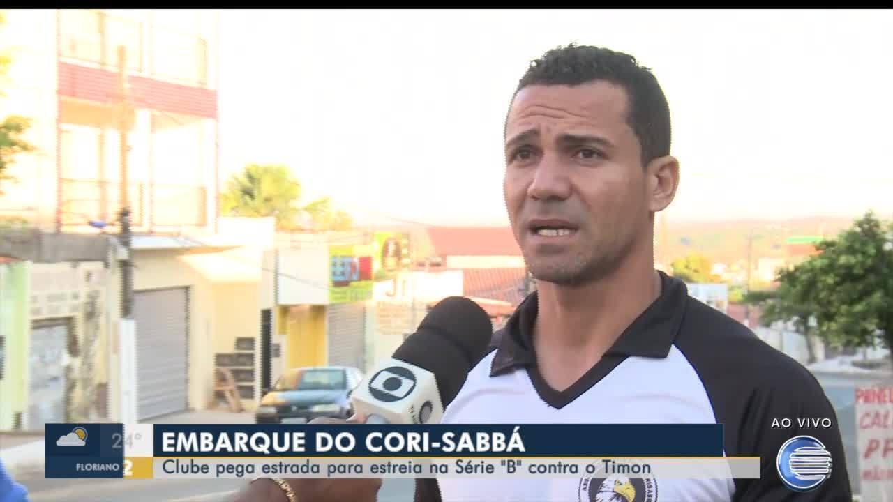 Cori-Sabbá pega a estrada para a estreia na série B contra o Timon