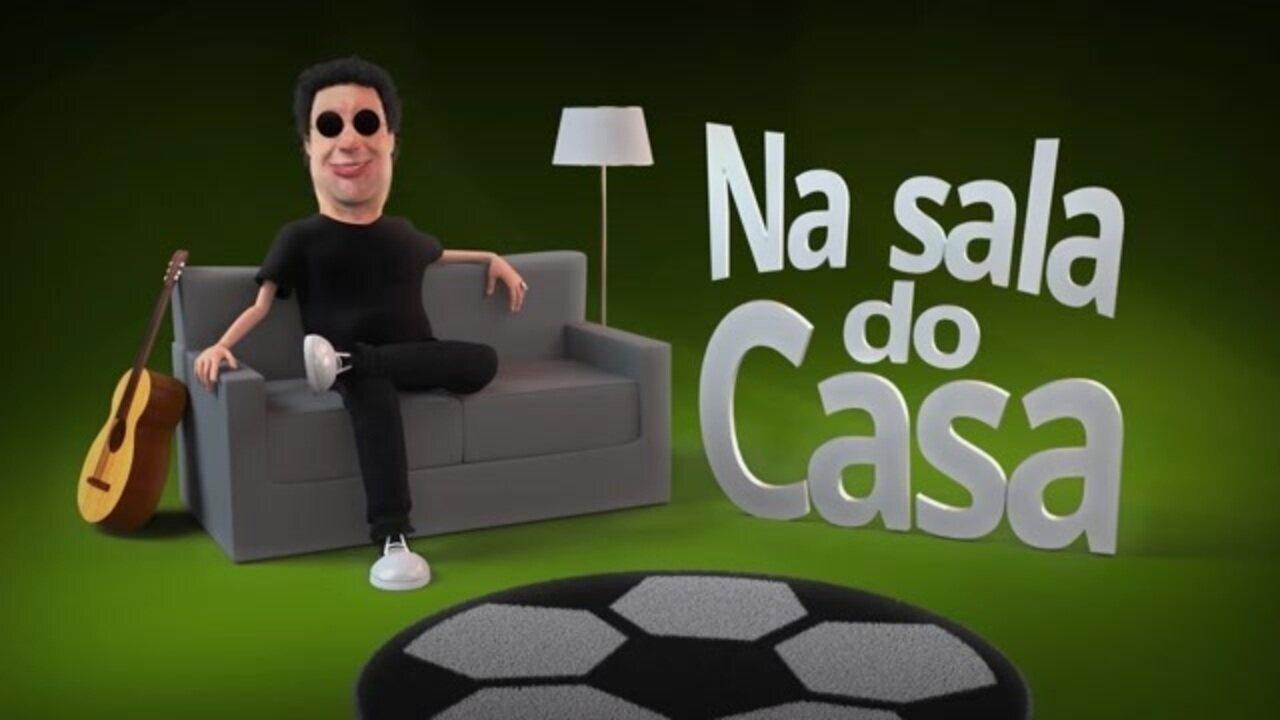 """""""Na Sala do Casa"""", episódio 1: Casagrande fala sobre relação entre esporte e política"""