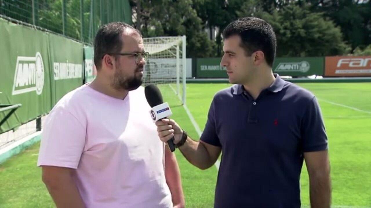 Felipe Zito e Fabrício Crepaldi trazem as informações do Palmeiras nesta quarta-feira