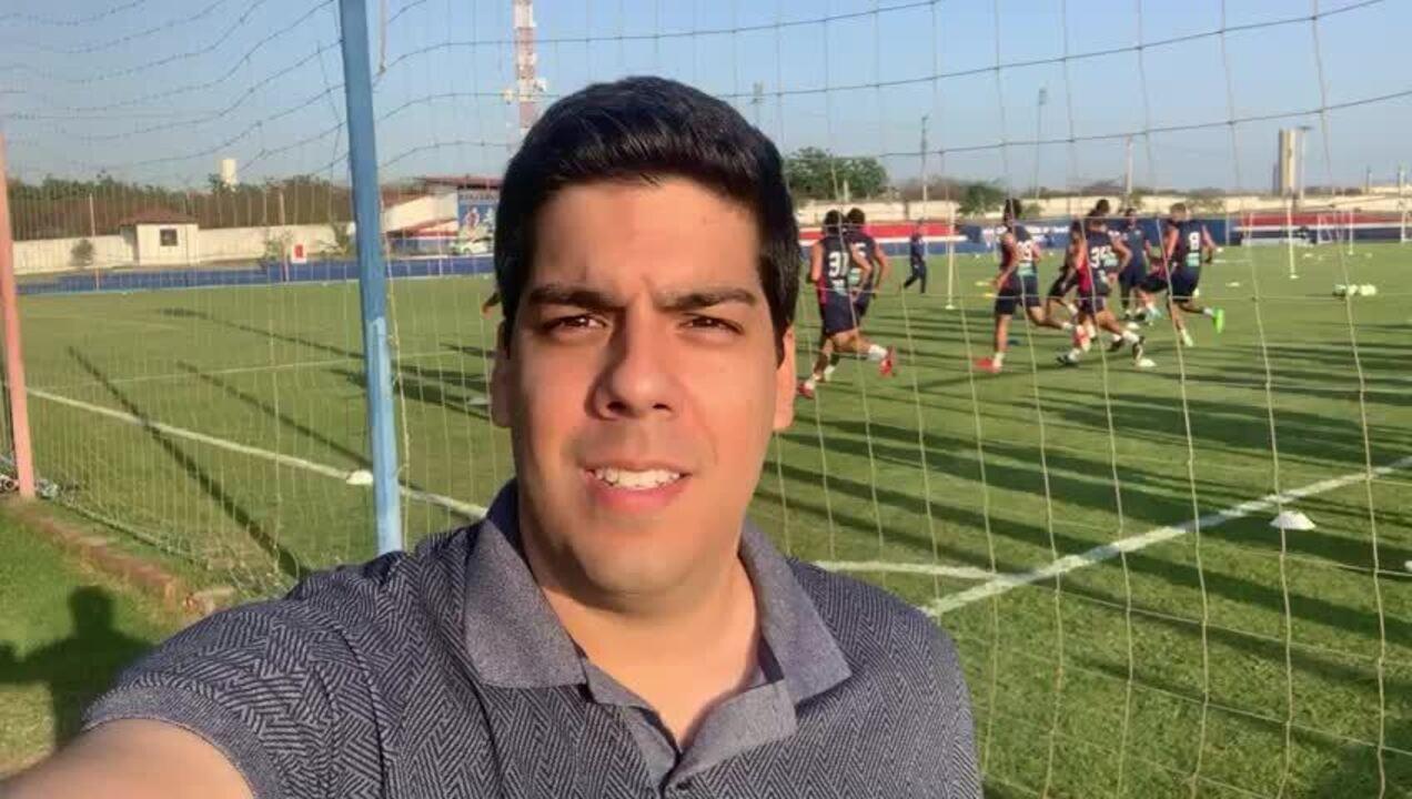 GE no Leão: confira as novidades do treino do Fortaleza mirando o Palmeiras