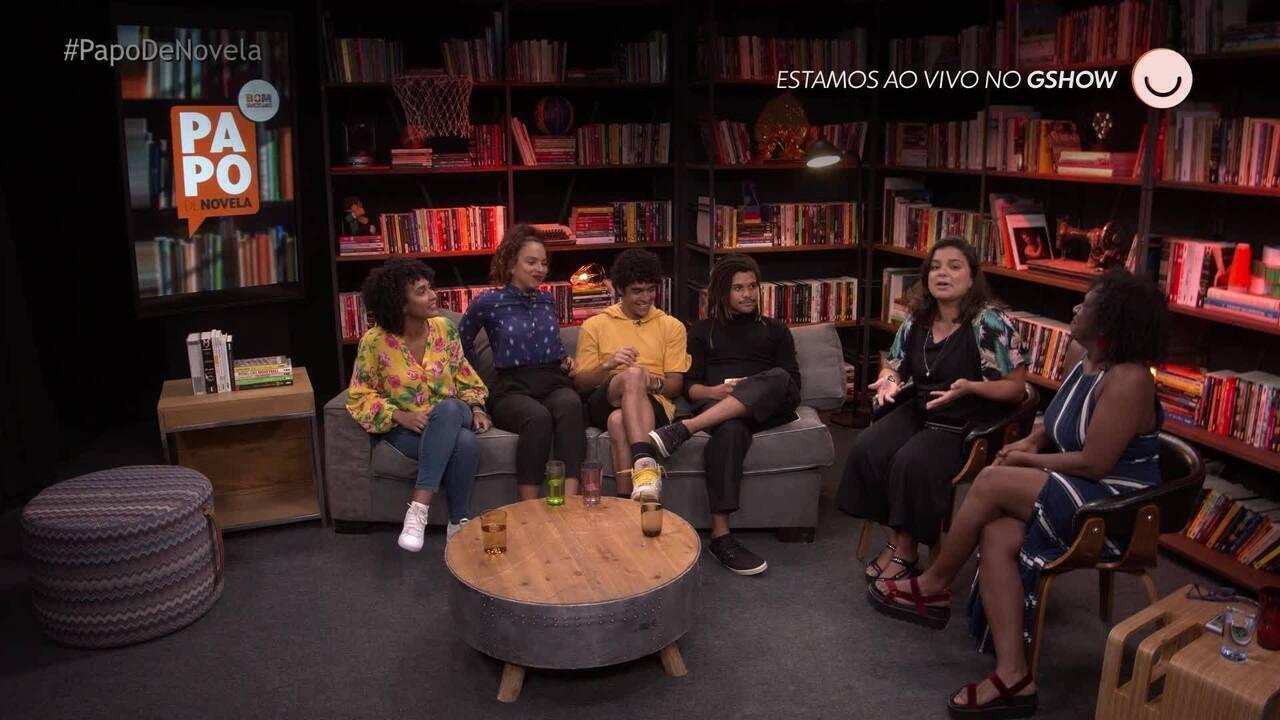 Papo de Novela #03: Recebe Igor Fernandez, Lucas Leto, Gabriela Moreyra e Ju Colombo