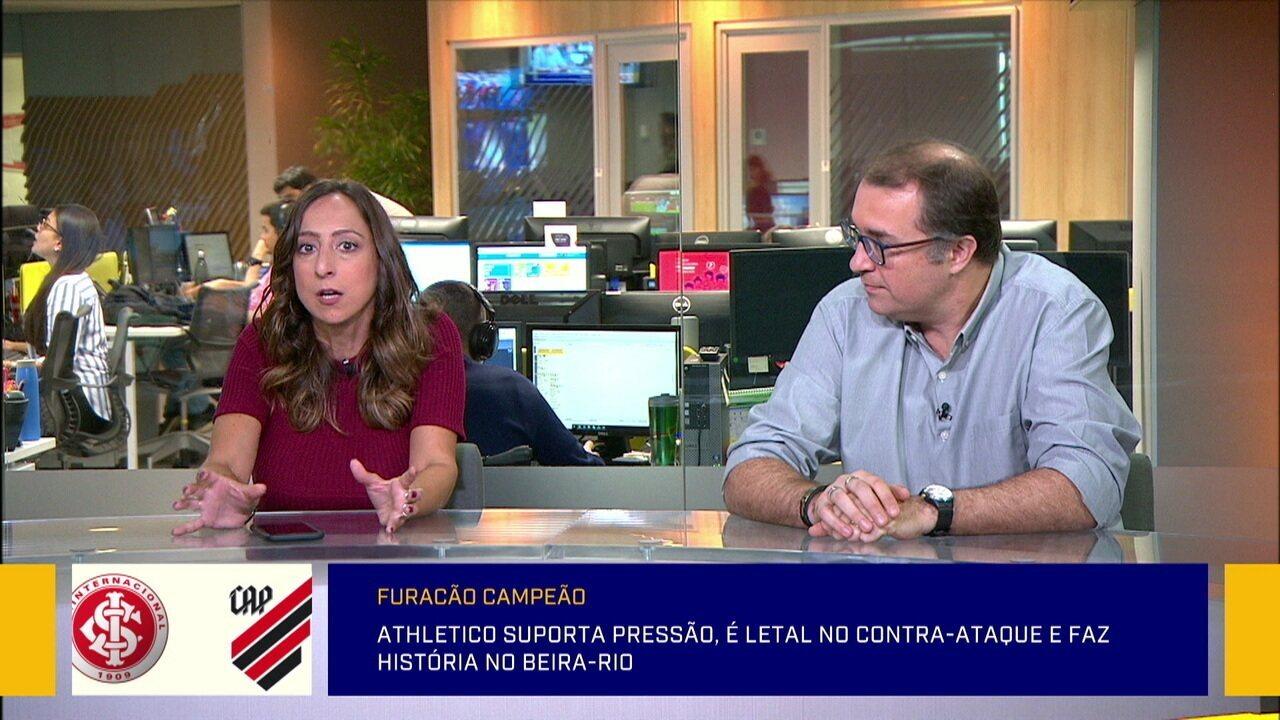 Comentaristas dizem que título do Athletico-PR na Copa do Brasil é ainda maior por ter desbancados favoritos