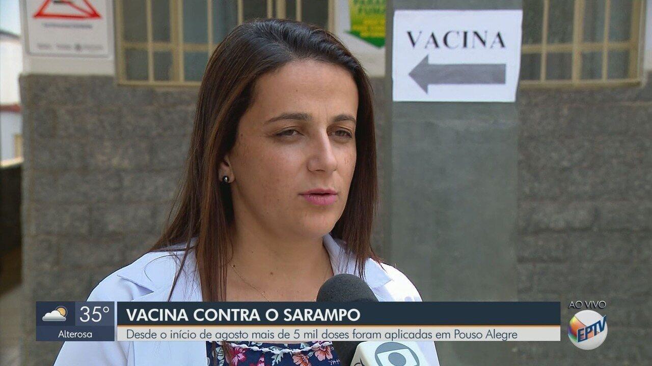 Primeiro caso de sarampo é confirmado em Pouso Alegre (MG)