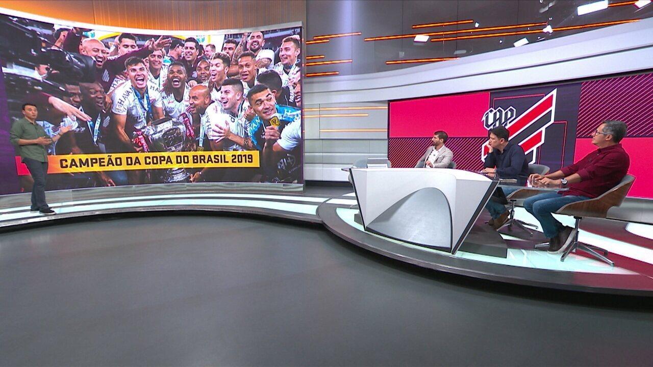 Mesa faz os primeiros comentários do título do Athletico-PR na Copa do Brasil