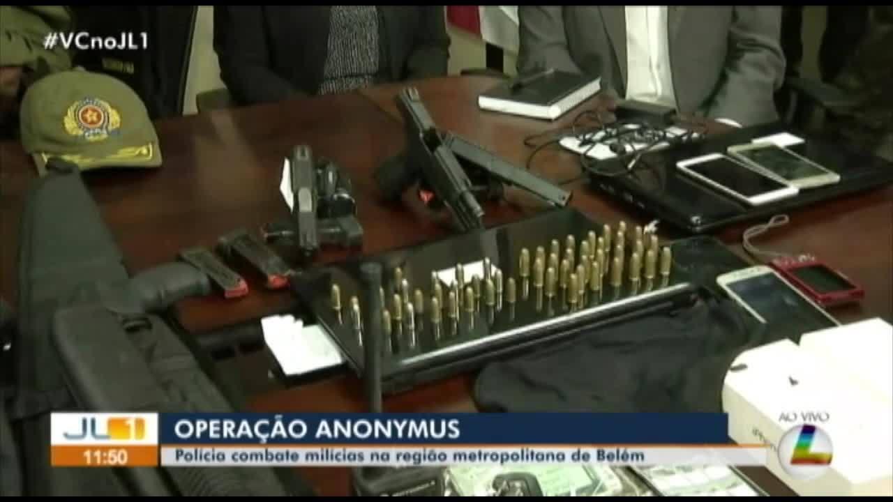 Operação de combate ao crime organizado cumpre mandados de prisão contra PMs e vereador