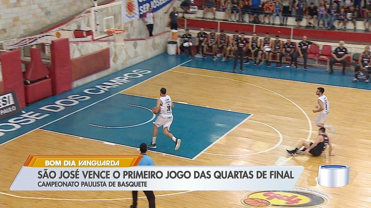 São José bate Franca no primeiro duelo das quartas do Paulista