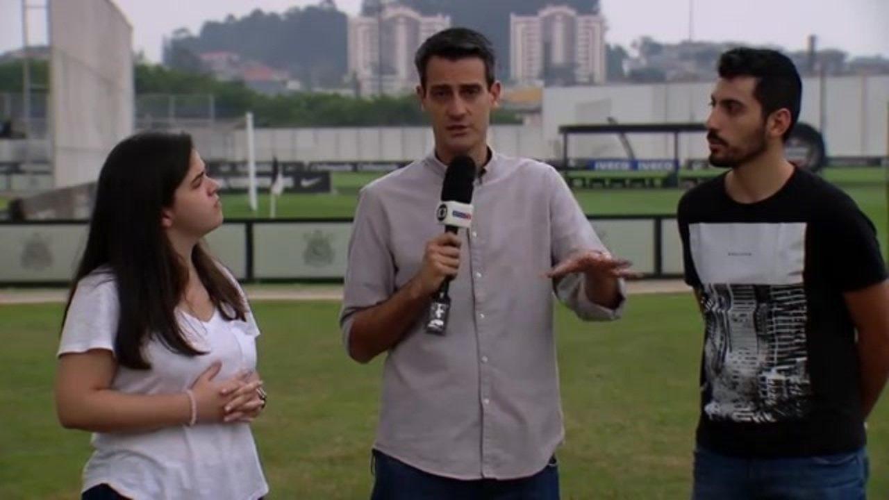 Repórteres trazem informações do Corinthians para jogo contra o Bahia