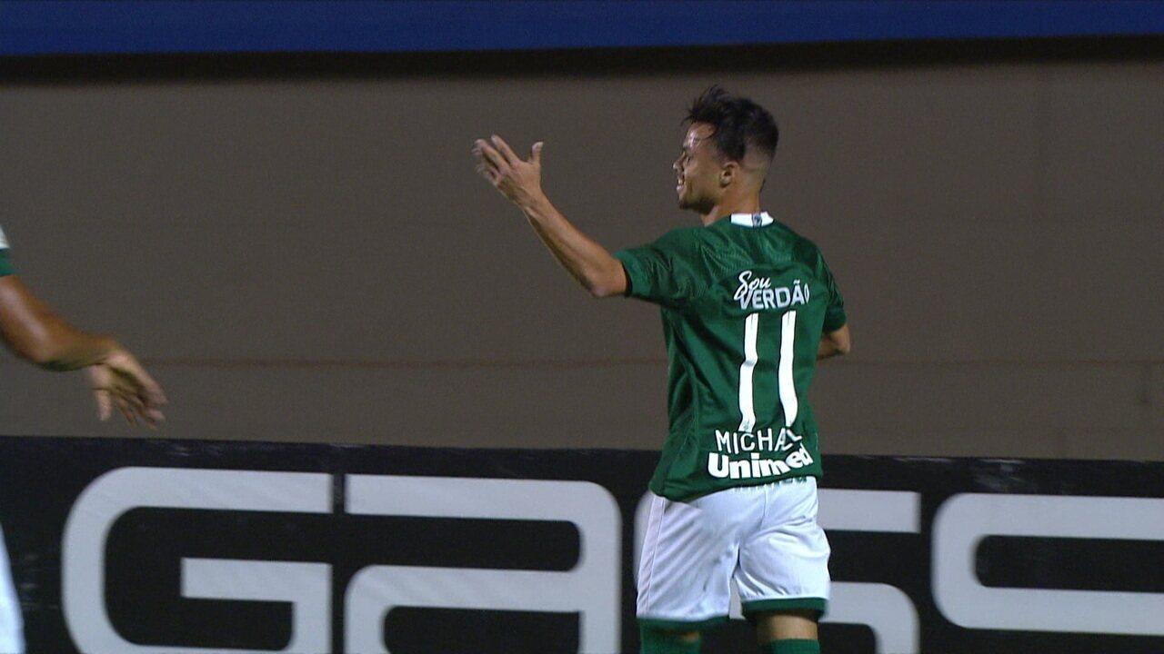 Veja o gol de Michael contra o Fluminense