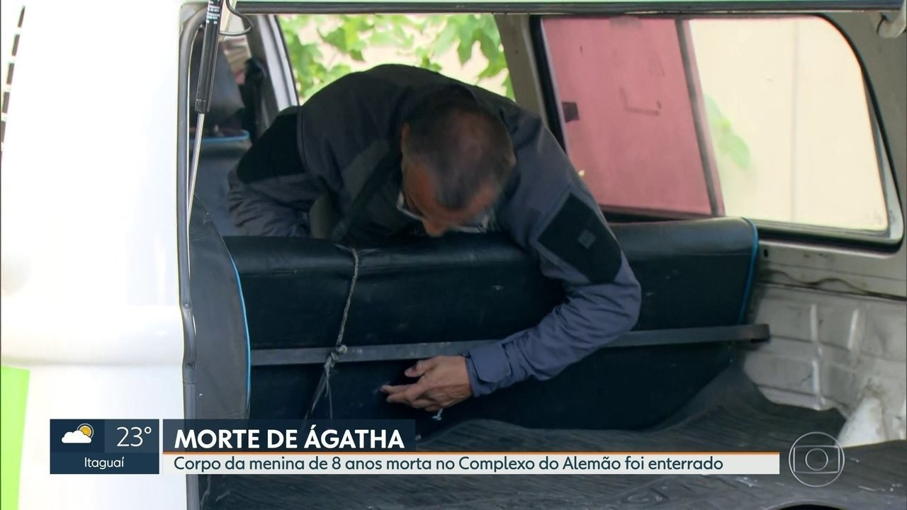 Polícia Civil vai fazer exame para saber de onde partiu a bala de fuziil que matou Ágatha