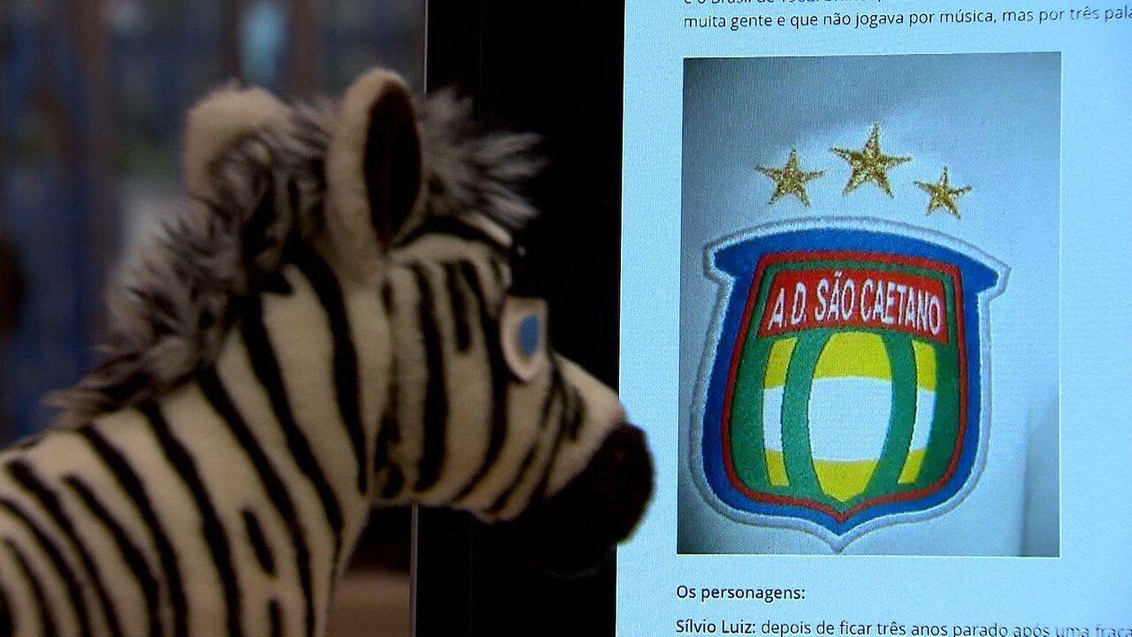 Baú do Esporte: Zebras relembra a trajetória do São Caetano