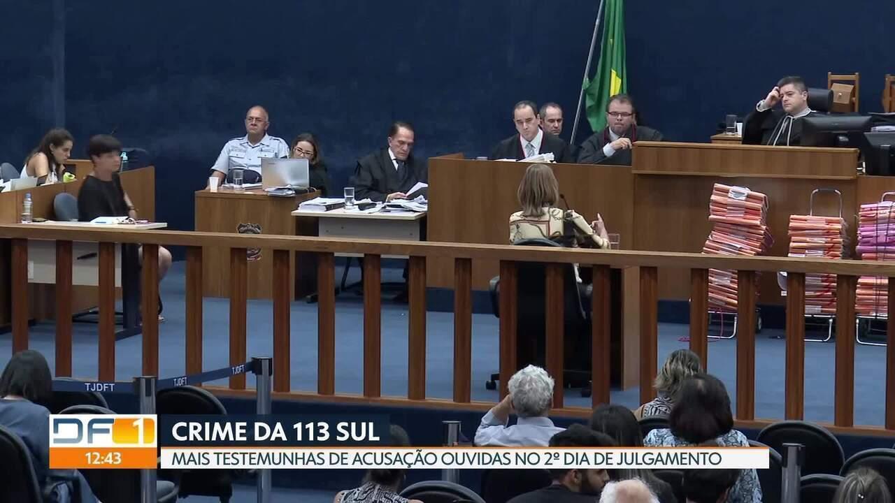 Mais testemunhas de acusação são ouvidas no segundo dia de julgamento de Adriana Vilela