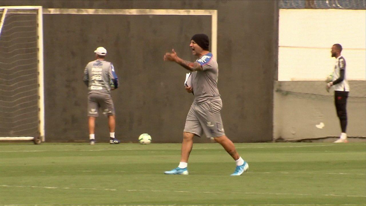 Santos não terá Sampaoli no banco contra o Fluminense pelo Campeonato Brasileiro