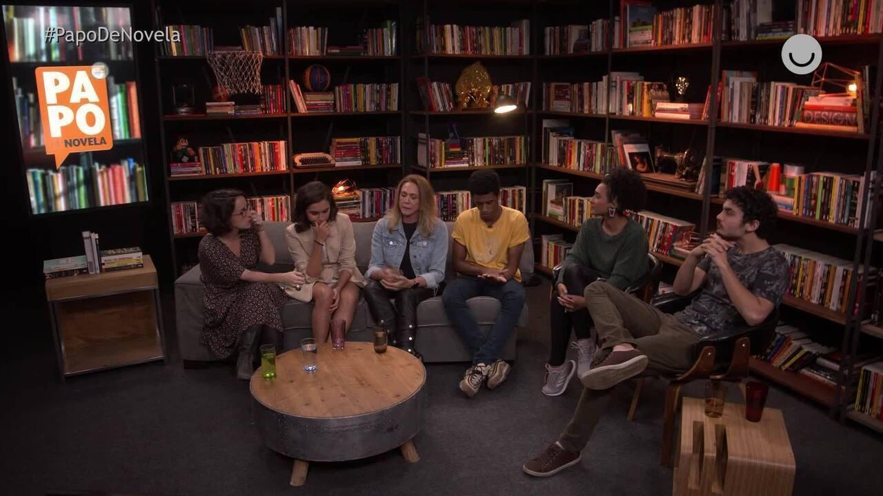 Papo de Novela #04: Hortência, Giovanna Coimbra, Caio Cabral e Gabriel Contente