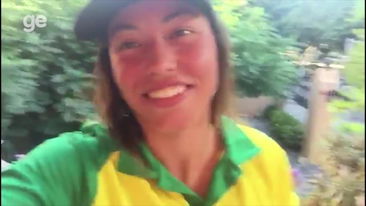 Ana Sátila garante vaga para o Brasil na Olimpíada de Tóquio na Canoagem Slalom