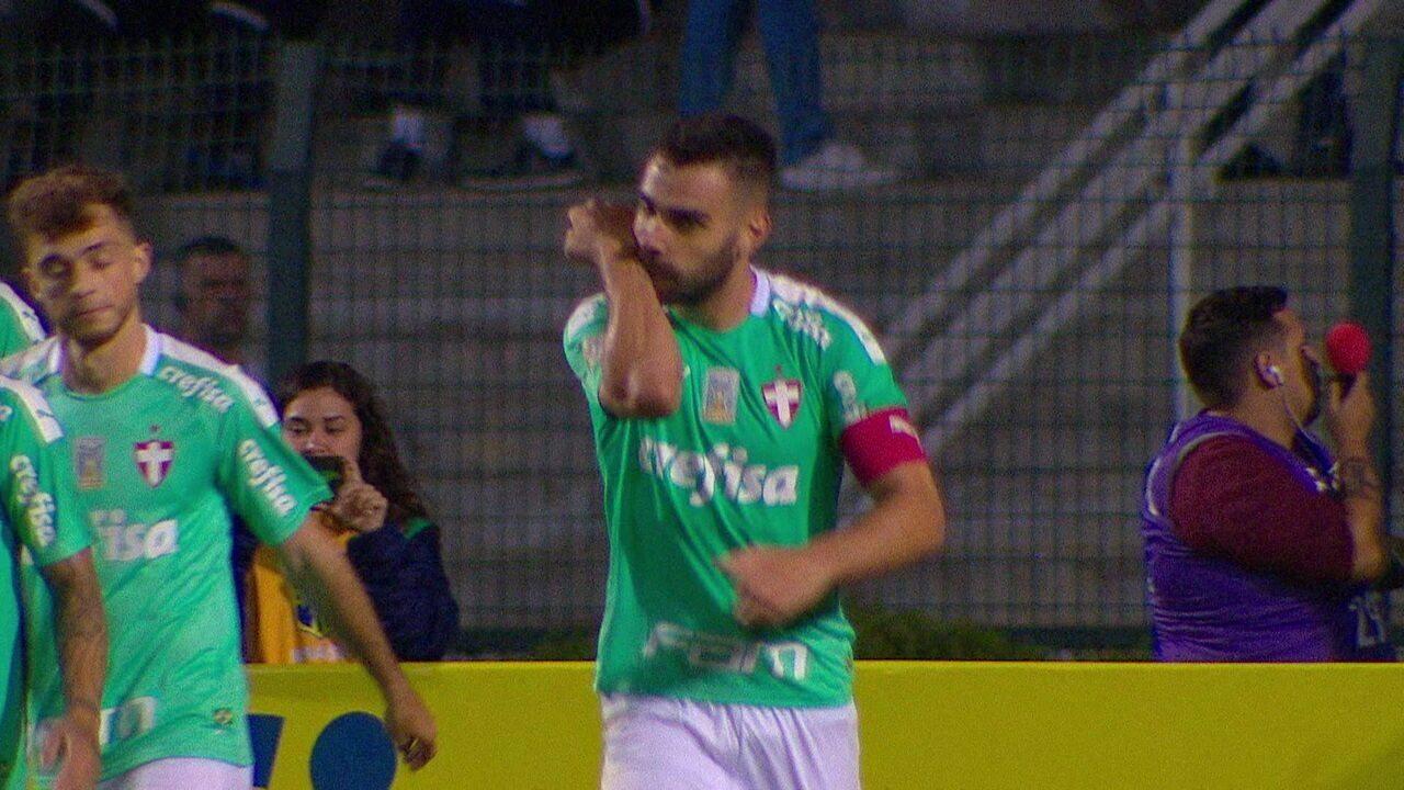 Dudu dá assistência para Bruno Henrique marcar contra o CSA